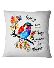 Every Little Thing Is Gonna Be Alright Square Pillowcase thumbnail