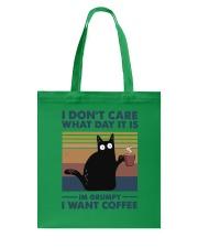 I Want Coffee Tote Bag thumbnail