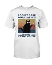 I Want Coffee Classic T-Shirt thumbnail