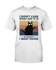 I Want Coffee Premium Fit Mens Tee thumbnail