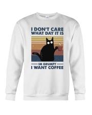 I Want Coffee Crewneck Sweatshirt thumbnail