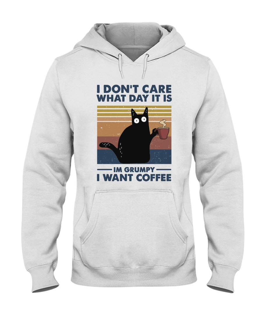 I Want Coffee Hooded Sweatshirt