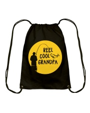 Reel Cool Grandpa Drawstring Bag thumbnail