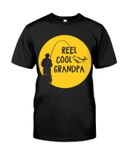 Reel Cool Grandpa Classic T-Shirt front