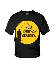 Reel Cool Grandpa Youth T-Shirt thumbnail