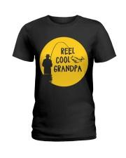 Reel Cool Grandpa Ladies T-Shirt thumbnail