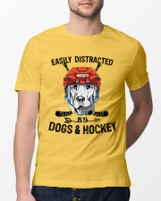 Dogs And Hockey Classic T-Shirt lifestyle-mens-crewneck-front-13