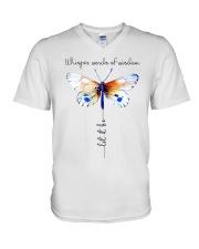 Whisper Words Of Wisdom V-Neck T-Shirt thumbnail