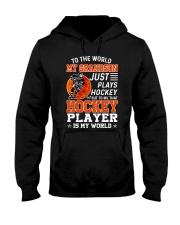 To The World My Grandson Hooded Sweatshirt thumbnail