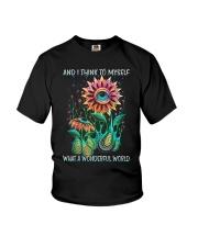 I Think To Myself Youth T-Shirt thumbnail
