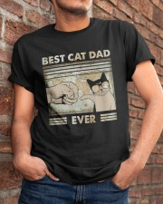 Best Cat Dad Ever Classic T-Shirt apparel-classic-tshirt-lifestyle-26
