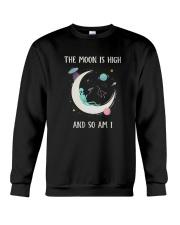 Smoke on The Moon Crewneck Sweatshirt thumbnail