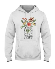 I Must Have Flowers Always And Always Hippie  Hooded Sweatshirt front