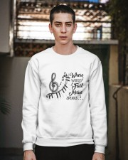 Where Words Fail Music Speaks Crewneck Sweatshirt apparel-crewneck-sweatshirt-lifestyle-02