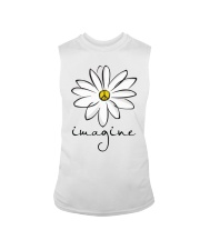 Imagine White Flowers A0125 Sleeveless Tee thumbnail