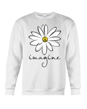 Imagine White Flowers A0125 Crewneck Sweatshirt tile