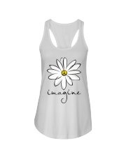 Imagine White Flowers A0125 Ladies Flowy Tank tile