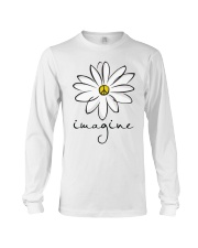 Imagine White Flowers A0125 Long Sleeve Tee tile