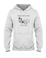 Let It Be 1 Hooded Sweatshirt front