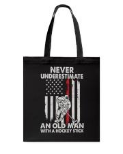 Never Underestimate Tote Bag thumbnail