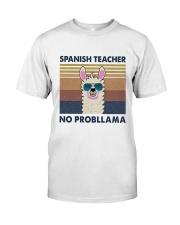 Spanish Teacher Premium Fit Mens Tee thumbnail