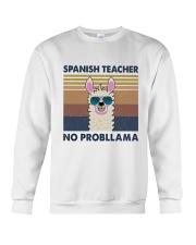 Spanish Teacher Crewneck Sweatshirt thumbnail