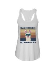 Spanish Teacher Ladies Flowy Tank thumbnail