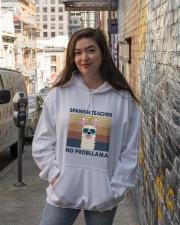 Spanish Teacher Hooded Sweatshirt lifestyle-unisex-hoodie-front-1