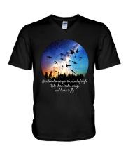 Blackbird Singing In The Dead  V-Neck T-Shirt thumbnail