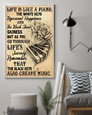 Life Is Like A Piano 11x17 Poster lifestyle-poster-1