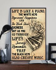 Life Is Like A Piano 11x17 Poster lifestyle-poster-2