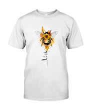 Let It Be Bee Flower Classic T-Shirt thumbnail