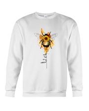 Let It Be Bee Flower Crewneck Sweatshirt thumbnail