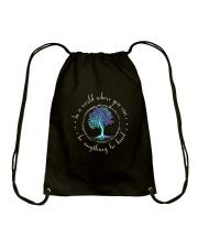 Be Kind Drawstring Bag thumbnail