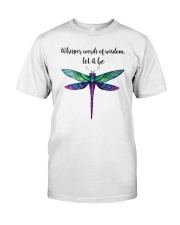 Whisper Words Of Wisdom Classic T-Shirt front