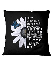 I Am The Storm Square Pillowcase thumbnail