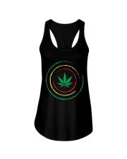 Cannabis Ladies Flowy Tank thumbnail
