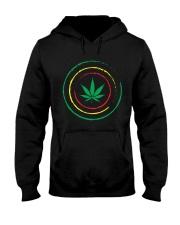 Cannabis Hooded Sweatshirt front