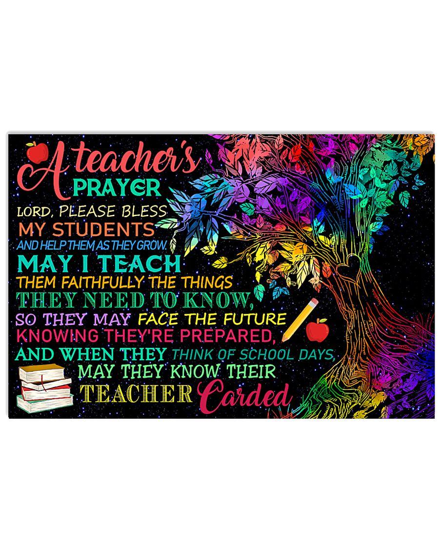 A Teacher 17x11 Poster