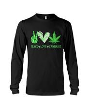 Peace Love Cannabis Long Sleeve Tee thumbnail