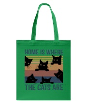 Where The Cats Are Tote Bag thumbnail