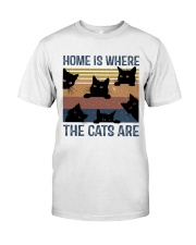 Where The Cats Are Classic T-Shirt thumbnail