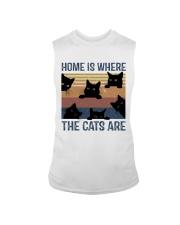 Where The Cats Are Sleeveless Tee thumbnail