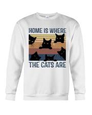 Where The Cats Are Crewneck Sweatshirt thumbnail