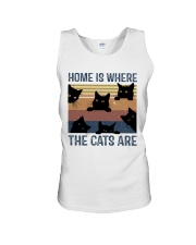 Where The Cats Are Unisex Tank thumbnail