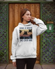 Where The Cats Are Hooded Sweatshirt apparel-hooded-sweatshirt-lifestyle-02