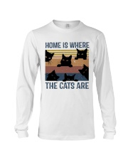 Where The Cats Are Long Sleeve Tee thumbnail