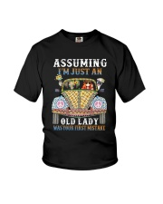 I Am Just An Old Lady Youth T-Shirt thumbnail