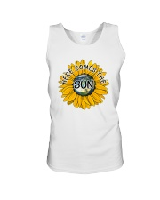 Here Comes The Sun Unisex Tank tile