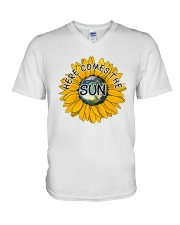 Here Comes The Sun V-Neck T-Shirt tile